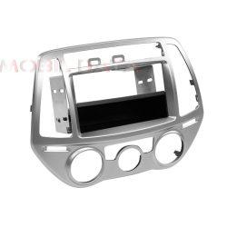 Hyundai i20 (PB) 2012.07-> autórádió beépítő keret 1 DIN fiókkal 291143-20-1