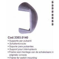 SPAL Kárpit keret (A húzó-nyomó kapcsolóhoz)  Kód: 3303.0140