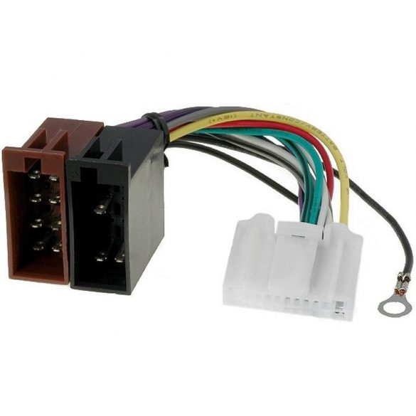 Nissan 2007- ISO OEM autórádió adapter kábel 554147