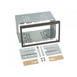 Univ. dupla ISO beszerelő keret dupla DIN készülékekhez 571968
