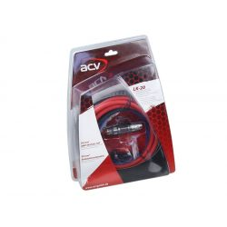 Autóhifi kábel készlet 20 mm² erősítő bekötéshez LK 20