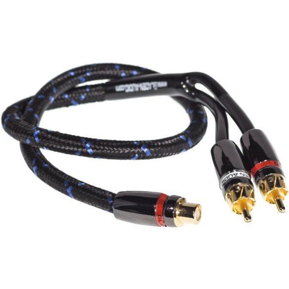 RCA kábel Gladen Audio Y elosztó 1F-2M High End