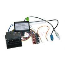 VW, Seat, Skoda, -ISO rádió csatlakozó kábel Fantom táppal és CAN-BUS adapterrel 1324-46-15