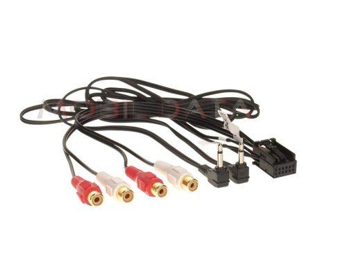 AUX-IN és erősítő kimenet kábel VW autókhoz 1424-02