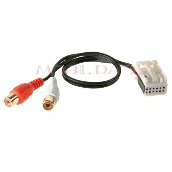 AUX adapter - Mercedes APS COMAND (MOST) OEM gyári fejegységhez (csak NTG2-vel) / VW Crafter NTG2-vel 1424-03