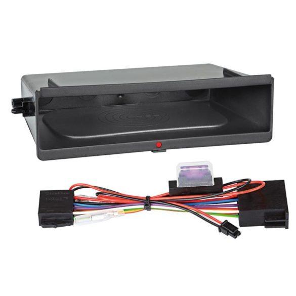 Vezeték nélküli telefontöltős autórádiókeret fiók Dupla DIN inbay241000-10-1