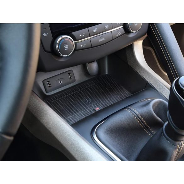 Vezeték nélküli telefontöltős tárolórekesz Renault Kadjar 2015-től inbay 241250-50-1