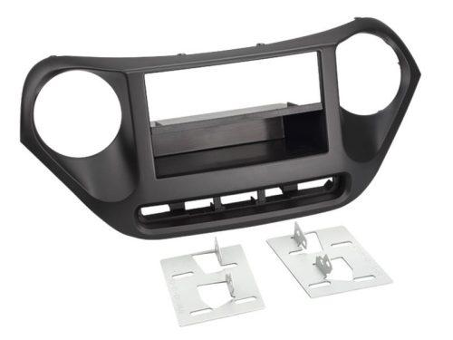 Hyundai i10 (IA) 2013-11-után 1 DIN autórádió beépítő keret fiókkal 281143-13-1