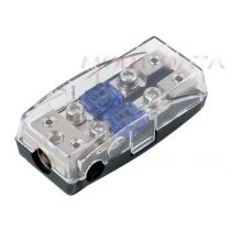 Mini ANL biztosíték tartó 2 biztosítékkal  30.3804-02s