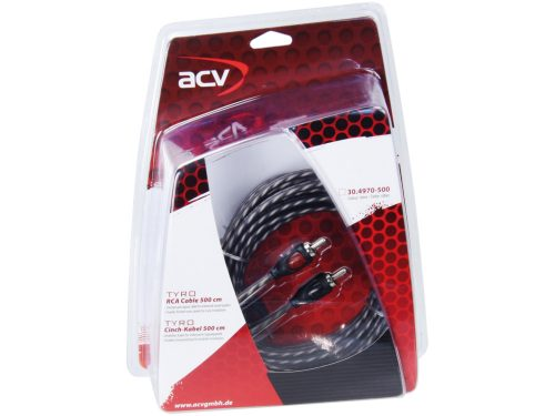 RCA kábel ACV TYRO 5,0 m 30.4970-500