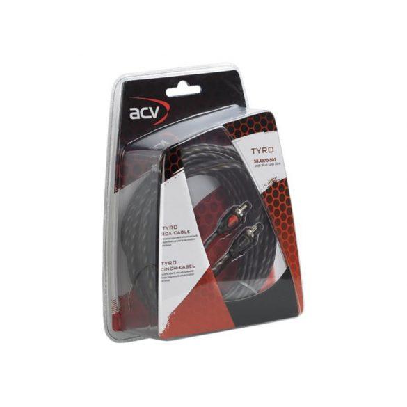 RCA kábel ACV TYRO 5,0 m REMOTE vezetékkel 30.4970-501