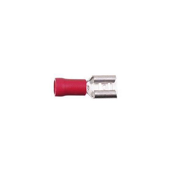 Csúszósaru hüvely 4,8 mm szigetelt 344801-1