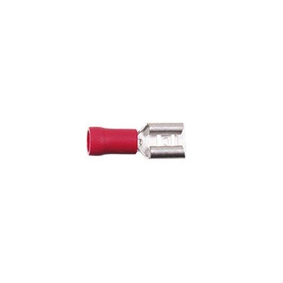 Csúszósaru hüvely 6,3 mm szigetelt 346301-1