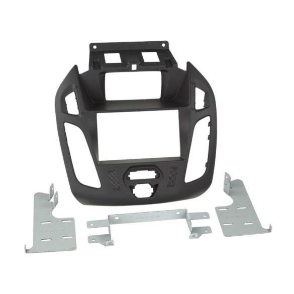 Ford Transit Connect (kijelzős) 2013.10-után dupla DIN autórádió beszerelő keret 381114-27-1-4
