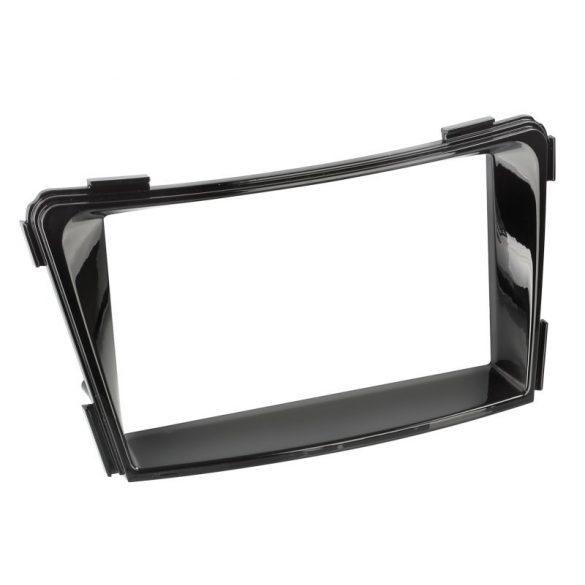 Hyundai i40cw (VF) 2011.06-tól 2 DIN autórádió beszerelő keret fényes fekete 381143-40-1