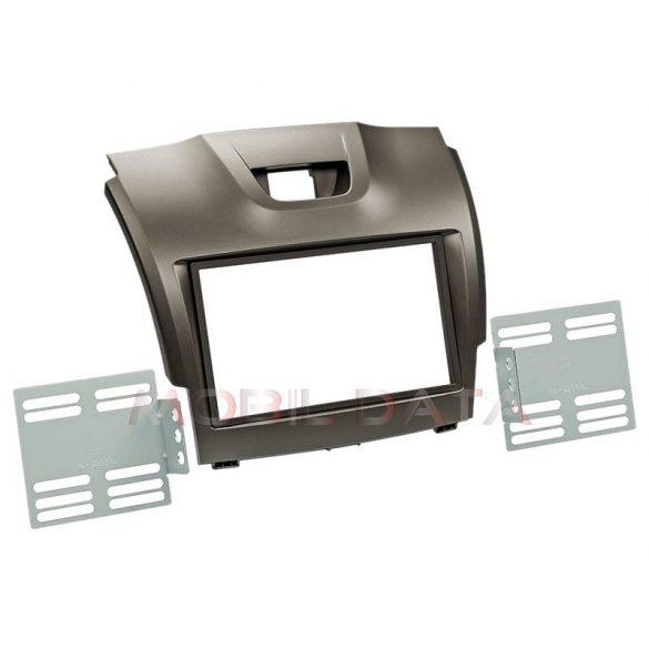 Isuzu D-Max 2012-> dupla DIN rádióbeépítőkeret 381160-01