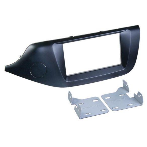 Kia Ceed 2012.04 dupla DIN autórádió beépítő keret 381178-33-1