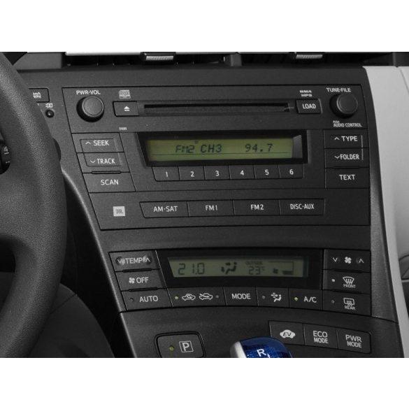 Toyota Prius III 2009 > dupla DIN autórádió beszerelő keret 381300-23