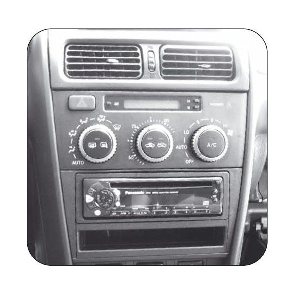 Lexus IS 200 - IS 300 01-05 1 és 2 DIN autórádió keret 381301-05