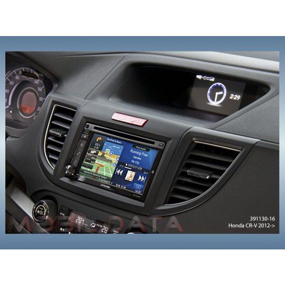 Honda CR-V 2012-> autórádió beépítő keret dupla DIN 391130-16