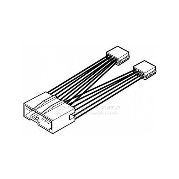 Ford Fiesta / Fusion - ISO rádió csatlakozó kábel