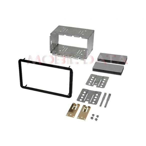 Alfa 159 autórádió beépítő keret Dupla ISO 572294-TT