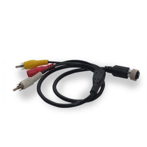 ABM 4pin-RCA átalakító kábel 7 colos monitorhoz