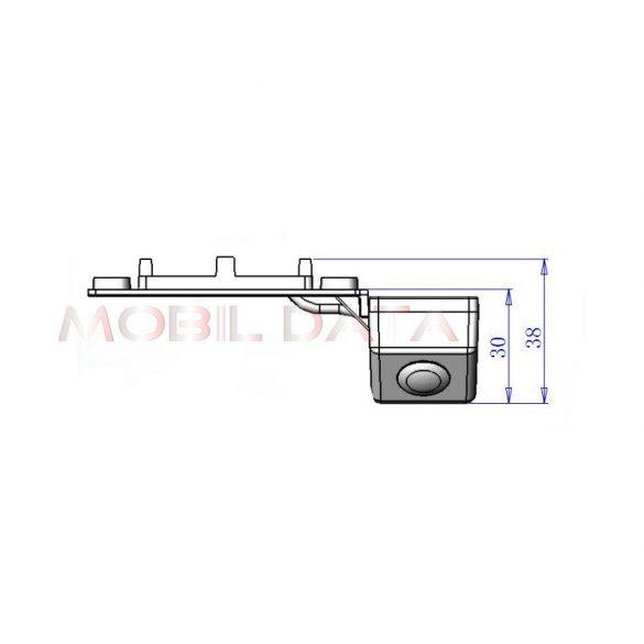 ASTK-1824 speciális tolatókamera VOLKSWAGEN Passat