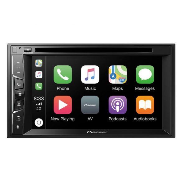 Pioneer AVH-Z2200BT Autós multimédia lejátszó, 2DIN, CD/DVD, Bluetooth, Apple Carplay