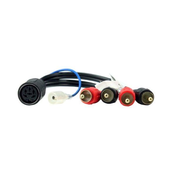 Volvo aktív system adapter (6 tűs DIN csatlakozó) CT20VL05