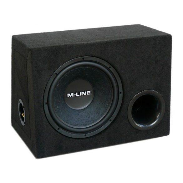 Gladen Audio M-LINE 12 BR autóhifi subwoofer reflex ládában