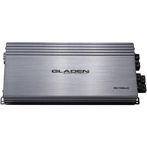 Gladen Audio RC 105c4 autóhifi erősítő 4 csatornás