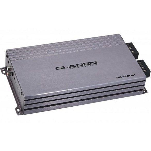 Gladen Audio RC 1200c1 digitális mono autóhifi erősítő