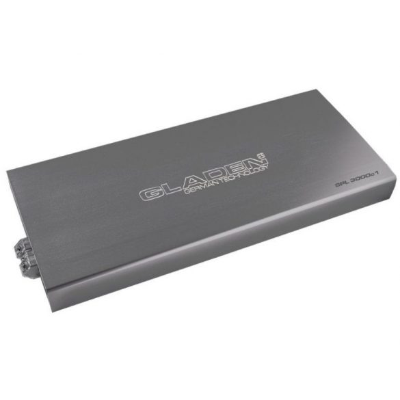 Gladen Audio SPL 3000c1 autóhifi 1 csatornás nagy teljesítményű D-ostályú erősítő