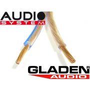 Hangszórókábel Audio System 2x4,0 mm2 GA 2x4,0