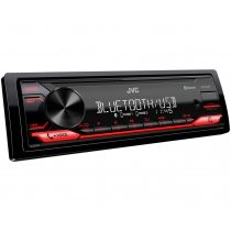 JVC KD-X272BT autórádió USB bemenettel és Bluetooth funkcióval, piros színű megvilágítással