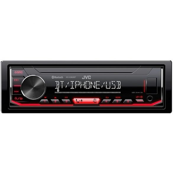 JVC KD-X362BT mechanika nélküli Bluetooth autórádió
