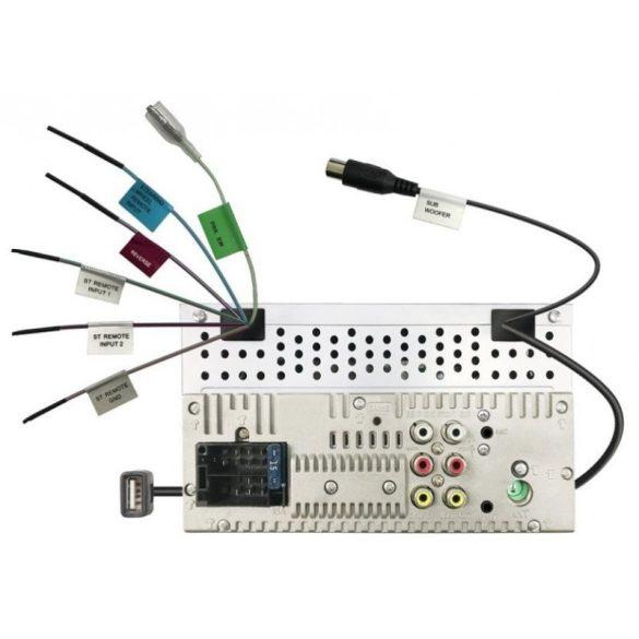 JVC KW-M560BT 2 DIN méretű érintőképernyős multimédia Bluetooth funkcióval