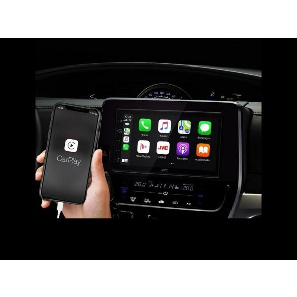 JVC KW-M565DBT 2 DIN méretű érintőképernyős multimédia Bluetooth funkcióval, DAB tunerrel