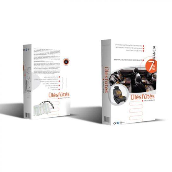 Kiyo AWHL ülésfűtés, 1 üléshez, 2 fűtési fokozattal (35°C és 45°)