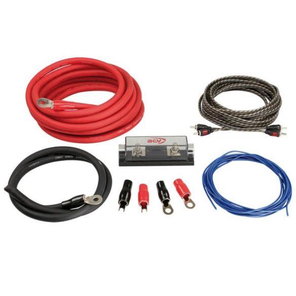 Autóhifi kábel készlet 35 mm² erősítő bekötéshez LK 35