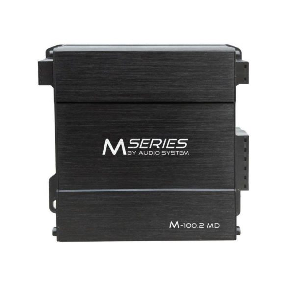 Audio System M-100.2MD MIKRO D osztályú autóhifi erősítő 2 csatornás