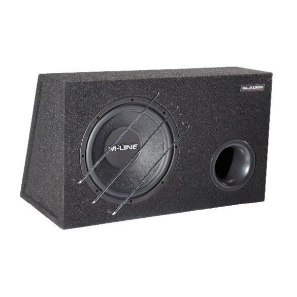 Gladen Audio M-LINE 12 VB autóhifi subwoofer reflex ládában