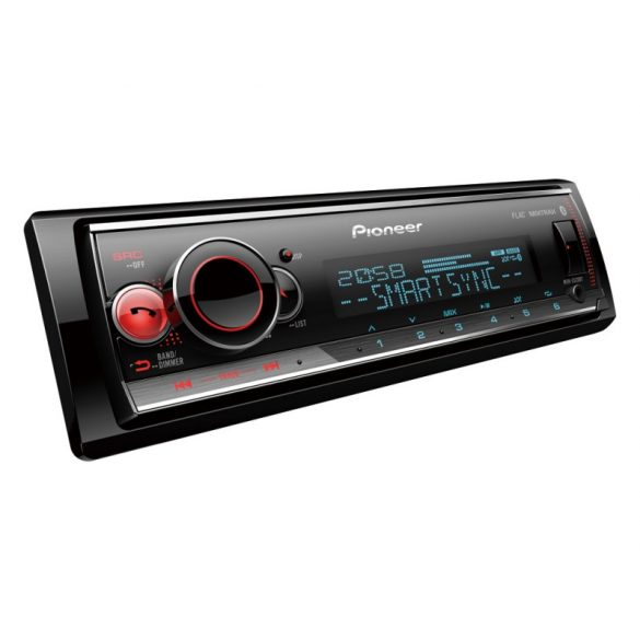 Pioneer MVH-S520BT autórádió RDS-tuner Bluetooth, USB Aux-In és Spotify