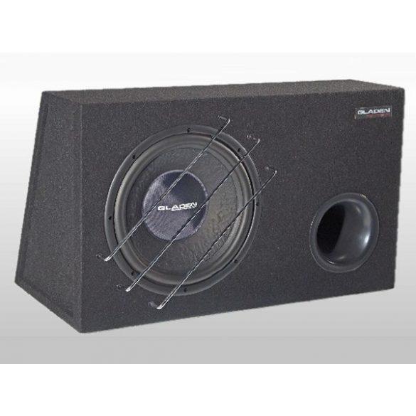 Gladen Audio RS 12 VB autóhifi subwoofer reflex ládában