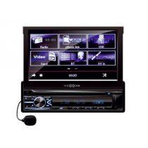 SAL VBX800i kinyílós 1 DIN autórádió és multimédia lejátszó