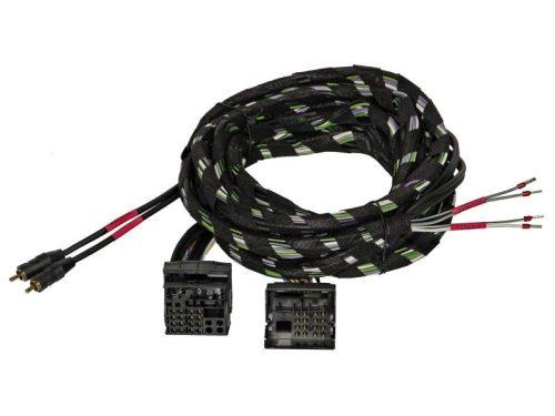 Gladen Quadlock PLUG & PLAY kábelköteg nagyjelszint bemenetű erősítőkhöz 2 csatornás 5 méter Z-PP-QL-2CH-5