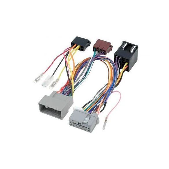 Telefon némító adapter PARROT kéznélküli kihangosító készülékhez. Chrysler, Dodge, Jeep. Telefonkihangosítás az első két hangszórón.