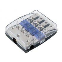 Mini ANL biztosíték tartó 4 biztosítékhoz 30.3804-04S