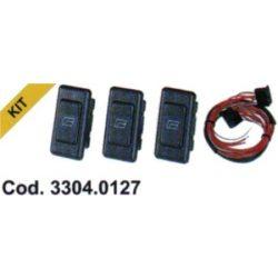 Spal ablakemelő kapcsoló készlet (0127)